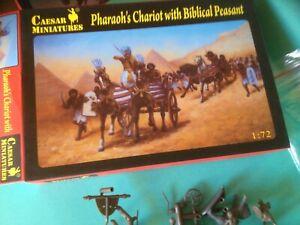caesar 1/72- figurines - chariot du pharaon egypte