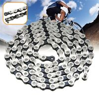 Silver Bicycle Chain Mountain Bike Steel With 116 Links for 8/24 Speed for IG51