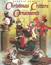 Christmas Critters Ornaments Plastic Canvas Patterns HOWB Vicki Blizzard NEW