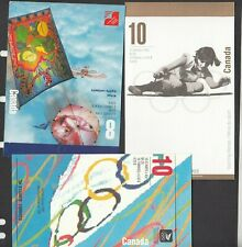 CANADA  - 3 MINT/NEVER HINGED MODERN BOOKLETS - FACE 12.38  SEE SCAN!