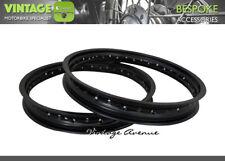 [LG4619] BRIDGESTONE 350 GTR GTO ALUMINIUM (BLACK) WHEEL RIM FRONT + REAR