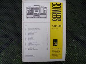 SKR 501, Service, Kassette, Sternradio Berlin