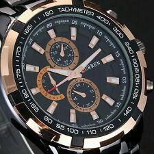 Reloj Deportivo Moda CURREN Para Hombre relojes de primeras marcas Novedad Lujo De Acero