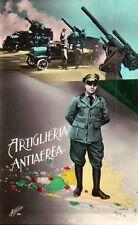 """CARTOLINA MILITARE """" ARTIGLIERIA ANTIAEREA """" ALTEROCCA TERNI   C10-955"""