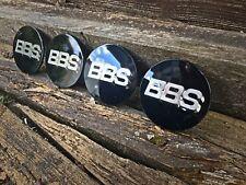 BBS RS RM RF Style 70mm Badges Centre Caps Emblem VW BMW Golf Audi