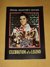 2002 ELVIS SPECIAL COLLECTOR'S EDITION BOOK BOOKLET CELEBRATION OF A LEGEND