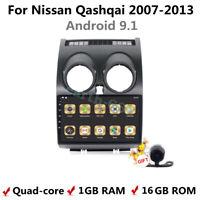 Android 9.1 Car DVD Player GPS BT WIFI Radio Navigation For Nissan Qashqai 07-13