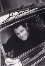 """John Travolta - B&W 6""""x 4"""" Signed Postcard - UACC RD223"""