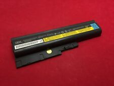 "Lenovo Thinkpad 14"" R60 T60 Genuine Battery FRU: 92P1139 10.8V 5.2AH Tested"
