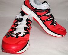 Saucony Womens Triumph Iso 4 Vizi Red/Black/White Running Shoes Size 9.5