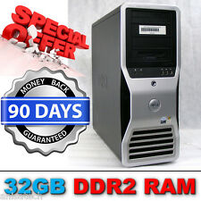 Dell Precision 690 Workstation 2x Xeon E5345 QuadCore 2.33GHz 32GB NVIDIA FX4600