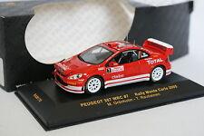 Ixo 1/43 - Peugeot 307 WRC Rallye Montar Carlo 2005 Nº7