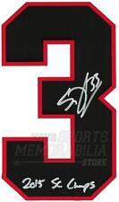 Scott Darling Chicago Blackhawks Signed Autographed 2015 SC Champs Jersey Number