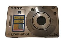 Sony Cyber-shot DSC-W70 3x Optical Zoom 7.2 Mega Pixels Mpegmovie Vx