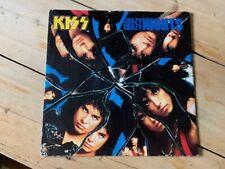 "KISS CRAZY CRAZY NIGHTS 1985 UK 4 TRACK 12"" GENE SIMMONS STANLEY"