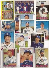 2016 Topps Heritage San Diego Padres 14 Card Master Team Set w/ SPs & Inserts