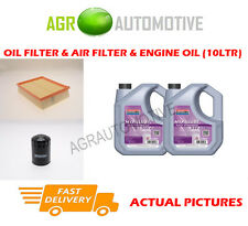 DIESEL OIL AIR FILTER + FS 5W30 OIL FOR LAND ROVER DISCOVERY 2.5 139BHP 1998-04
