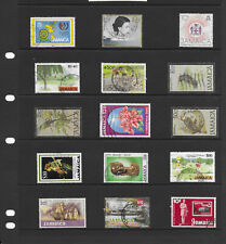 Commonwealth Jamaica 6 stock sheets large  mix collection stamps