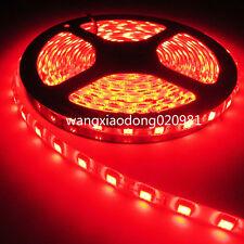 10M 5050 Red SMD Strip Flex Light Waterproof  60Leds/M 24V For Xmas Decoration