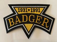 BADGER BOB JOHNSON MEMORIAL PATCH NHL PITTSBURGH PENGUINS JERSEY SLEEVE LOGO