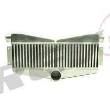 REV9 V2 UNIVERSAL TWIN TURBO INTERCOOLER FMIC 27X13X3.5 400-800HP 2 IN 1 OUT