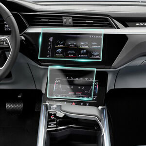 Crystal Clear Screen Protector for 2020 Audi e-tron Vehicle Navigation