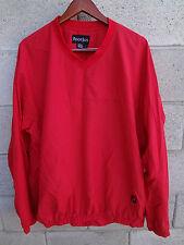 FOOTJOY SWEATER  sweat shirt  V-NECK SIZE LARGE L  RED EUC
