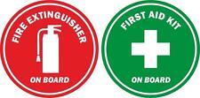 Adesivi adesivo sticke estintore antincendio emergenza