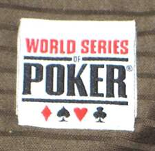 New World Series of Poker Adult Big and & Tall XL Army Green Polo Shirt (X-Large