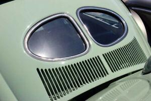 VW TYPE 1 BUG DELUXE SPLIT WINDOW REAR WINDOW RUBBER W/GROOVE FOR TRIM