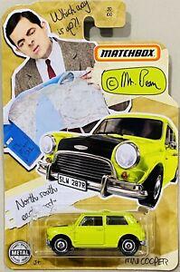 Matchbox Mr Bean Mini Cooper green