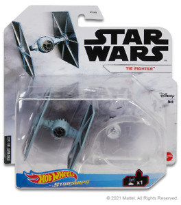 Star Wars Hot Wheels Starships 2021 Mix 1 Vehicle - Tie Fighter Classic
