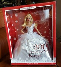 MATTEL HOLIDAY BARBIE 2013 DOLL 25TH ANNIVERSARY COLLECTOR EDITION #X8271 NIOB