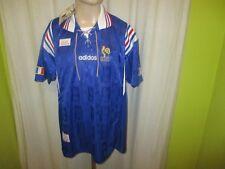 "Frankreich ""F.F.F."" Nr.1205 Adidas Europameisterschaft Trikot 1996 Gr.XL Neu"
