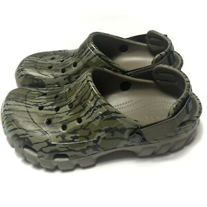 Crocs Offroad Sport Bottomland Clogs Mossy Oak Camo Mens 7 Womens 9 New