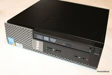 Dell Intel PC E7500 HTPC Slim SFF Compact Mini Computer HDMI 2GB 160GB DVD-RW