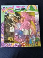 WIZARD OF OZ 1988 Dress Up Costumes BARBIE DOLL OUTFITS Scarecrow&Good Witch VTG