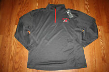 Nwt Mens Knights Apparel Gray Utah Utes Lightweight 1/4 Zip Pullover Sz Xl