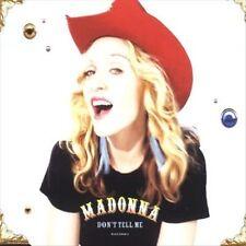 Don't Tell Me [Single] by Madonna (CD, Jan-2001, Maverick)