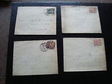 FRANCE - 4 enveloppes 1903 (cy60) french