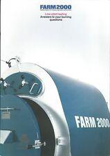 Farm Equipment Brochure - Farm 2000 - Uni-Boiler Waste Fuel Heating (F5703)