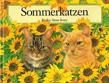 Lesley Anne Ivory, estate gatti, gatti ESTATE, A COLORI. immagine nastro Carlsen EA 1991