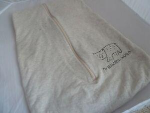 Lupilu baby snuggle sleeping bag 6-18 months 2.5 tog