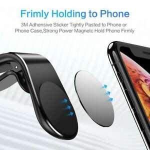 2pcs Magnetic Car Mobile Phone Holder Air Vent Phone Mount for i Phone Samsung