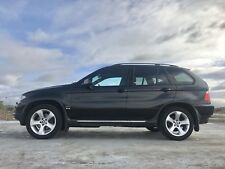 BMW X5 3.0D SPORT,2005,CHEAP TAX MODEL,FULLY LOADED,TURBO DIESEL ESTATE,BLACK,