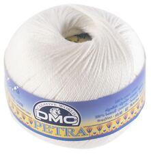 DMC Petra Crochet Thread - Colour: B5200 - Cotton - Size 3 - 100g