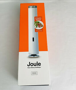 Joule Sous Vide By Chefsteps CS10001 Stainless Steel White New $250