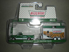 1/64th GL Hitch & Tow 1968 Krispy Creme Chevy C10 Pickup & Concession Trailer