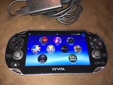 PS Vita Slim Sony PlayStation PSV PCH-2001 - Black w/Charger