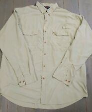 Redington Button down Vented Fishing Shirt UPF30+ Size XXL 2XL Fly Fishing Camp